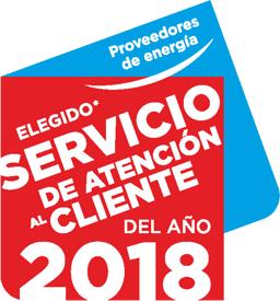 Mejor compañía eléctrica del 2018 según opinión de los clientes, gracias a los precios competitivos y al asesoramiento personal de su empresa instaladora de confianza.