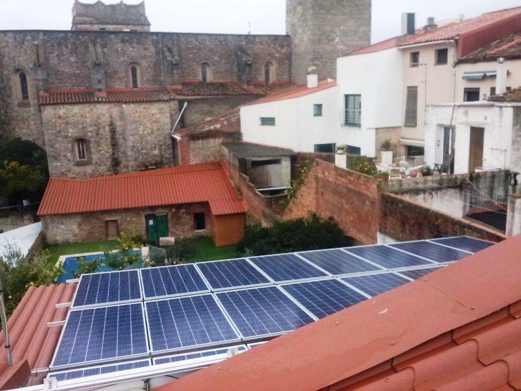 Autoconsumo Fotovoltaico en Argentona de 10 kWn.