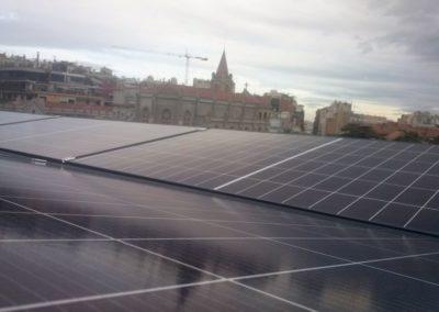 fotovoltaica autoconsum Barcelona 3.69kWp. Instal·lador de plaques solars en Mataró