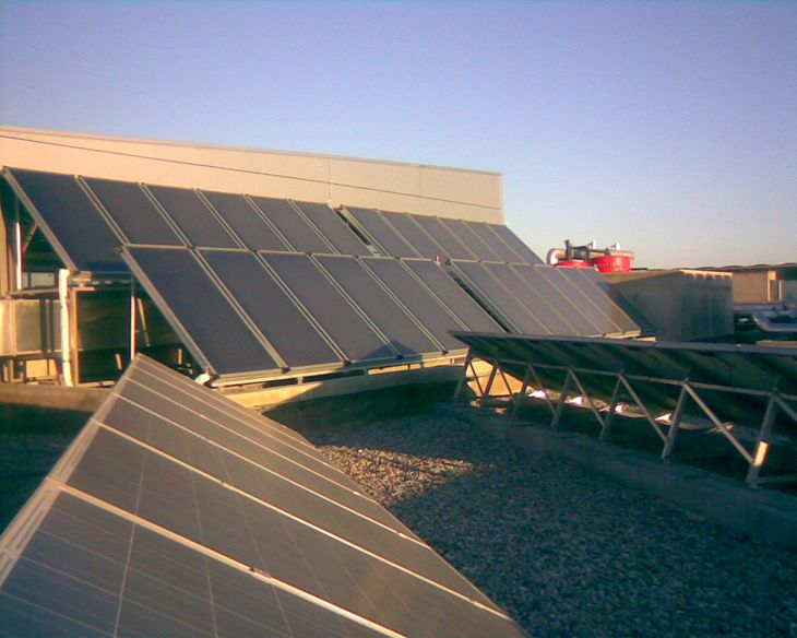 Instalación Energía Solar Térmica en Sant Joan Despí.