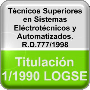 Técnico Superior en Sistemas Eléctrotécnicos