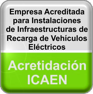 Instalador Acreditado ICAEN Vehículo Eléctrico