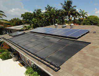 instalador energía solar para calentar piscinas