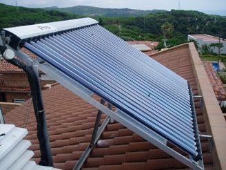 instalador paneles solares para agua caliente